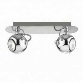 Double Point Chrome mennyezeti/fali lámpa - Evergreen Lights