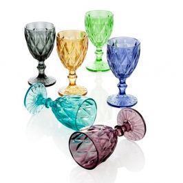 Diamante Goblet 6 részes üvegpohár szett - MANUFACTURERani
