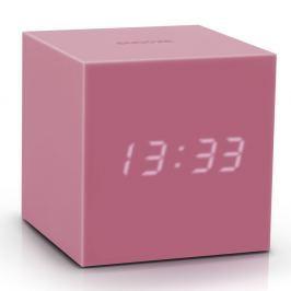 Gravitry Cube rózsaszín ébresztőóra LED kijelzővel - Gingko