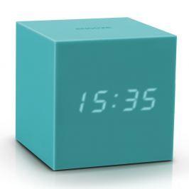 Gravitry Cube türkiz ébresztőóra LED kijelzővel - Gingko