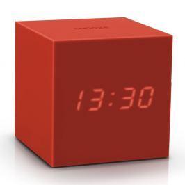 Gravitry Cube piros ébresztőóra LED kijelzővel - Gingko