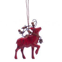 Deer lógó dekoráció - Antic Line
