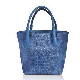 Laurita bőrből készült kék kézitáska - Massimo Castelli