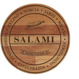 Broad Salami bükkfa tálalódeszka/vágódeszka, 30 cm - Bisetti