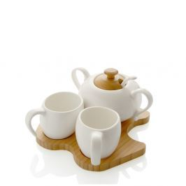 Bambou 2 darab csésze és cukortartó szett teáskanállal - MANUFACTURERani