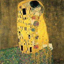 The Kiss repró, 50 x 50 cm - Gustav Klimt