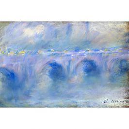 Claude Monet festmény - Le Pont de Waterloo, 90x60 cm