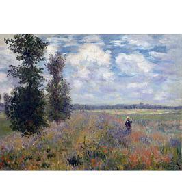 Claude Monet festmény - Poppy Fields near Argenteuil, 40x30 cm