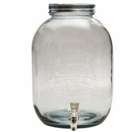 Authentic limonádés edény újrahasznosított üvegből, 12.5 l - Ego Dekor