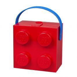 Piros tárolódoboz füllel - LEGO®