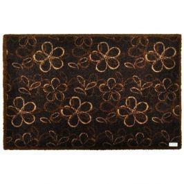 Floral Brown lábtörlő, 50 x 70 cm - Zala Living