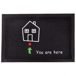 You Are Here lábtörlő, 40 x 60 cm - Hanse Home