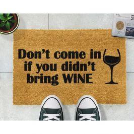 Without Wine lábtörlő, 40x60 cm - Artsy Doormats