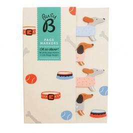 Page Markers Doggy könyvjelzők - Busy B