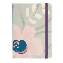Floral jegyzetfüzet, A6 formátum  - Busy B