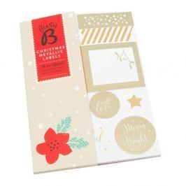 Karácsonyi matricák - Busy B Naplók