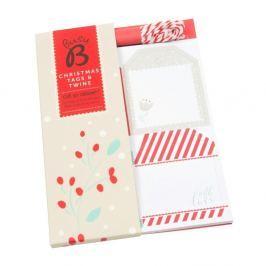 Karácsonyi ajándékkísérő kártya - Busy B