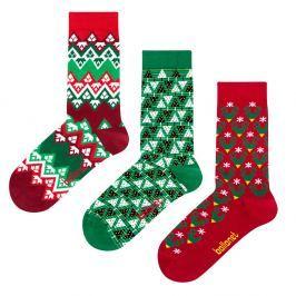 Christmas ajándék zokniszett, méret: 41 – 46 - Ballonet Socks