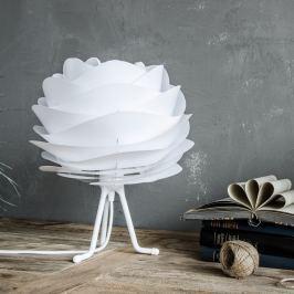 Fehér színű állítható háromlábú állvány lámpabúrához, 18,6 cm - VITA Copenhagen