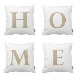 Home Collection párnakészlet, 4 részes, 43 x 43 cm - Homemania
