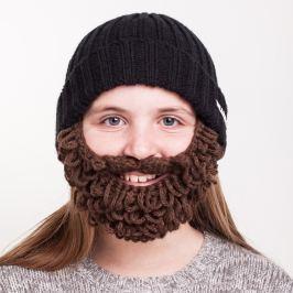 KITEM_IDs Thick gyerek fekete sapka barna szakállal - Beardo