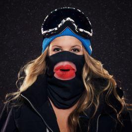 Kiss Lips sí maszk - Beardo