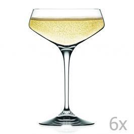 Alessandra 6 darabos pezsgőspohár készlet - RCR Cristalleria Italiana