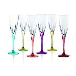 Gemma 6 darabos pezsgőspohár készlet - RCR Cristalleria Italiana