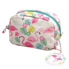 Flamingo Bay kozmetikai táska, 16 x 10 cm - Rex London