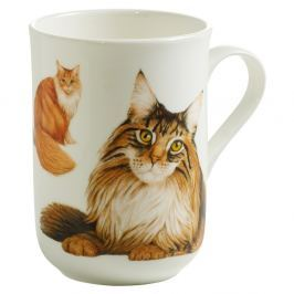 Pets Meine-Coon csontporcelán bögre, 350 ml - Maxwell & Williams