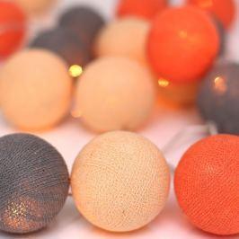 Peach Marble fényfüzér 10 darabos - Irislights