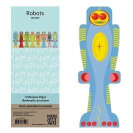 Robots könyvjelző szett - Mon Petit Art