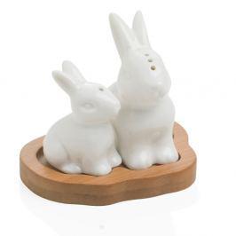 Rabbit só- és borsszóró tálcával - MANUFACTURERani