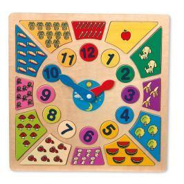Tell the Time fából készült játékóra - Legler
