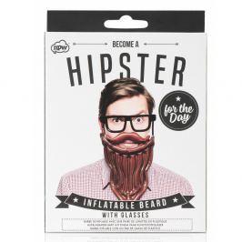 Hipster For The Day felfújható szakáll és szemüveg szett - npw™