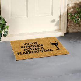 Pohár Bor lábtörlő, 40 x 60 cm - Artsy Doormats