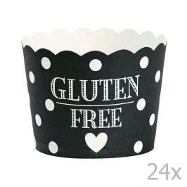 Gluten Free papír sütőforma, 24 darab - Miss Étoile