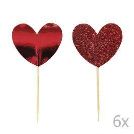 Hearts tortadísz, 12 darab - Miss Étoile
