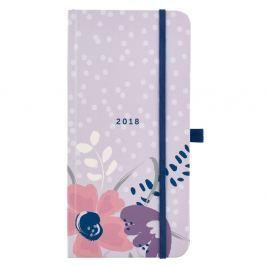 Pretty Slim 2018 világos lila határITEM_IDőnapló - Busy B