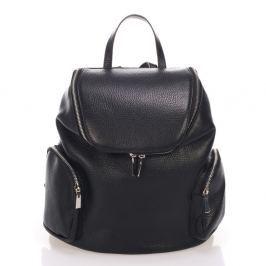 Mardi fekete, bőr hátizsák - Lisa Minardi
