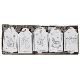 20 darab ajándékkísérő kártya - Ego Dekor