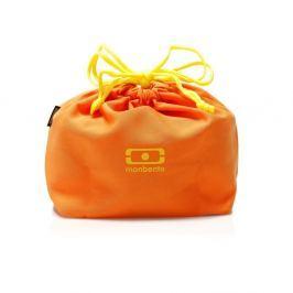 Narancssárga uzsonnás doboz tároló táska - Monbento