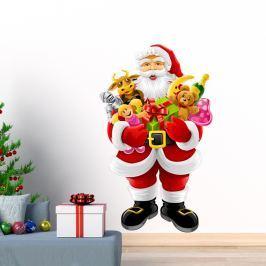 Santa Claus and Gifts karácsonyi matrica