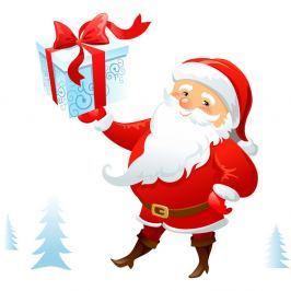 Santa Claus Lapland karácsonyi falmatrica - Ambiance