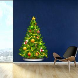 Arbre de Noel karácsonyi matrica - Fanastick