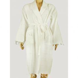 Hammam Clasic Style  fehér női fürdőköpeny