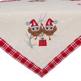Christmas Spirit terítő, 85 x 85 cm - Clayre & Eef