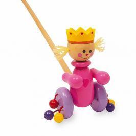 Queen fából készült húzogatós játék - Legler