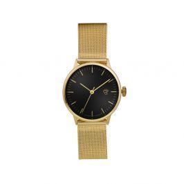 Nando Mini aranyszínű karóra fekete számlappal - CHPO