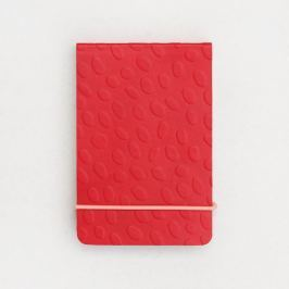 Embossed Dotty piros füzet - Caroline Gardner